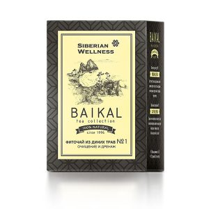 Фиточай из диких трав № 1 Очищение и дренаж Baikal Tea Collection